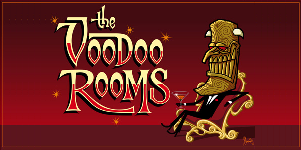 The Voodoo Rooms logo